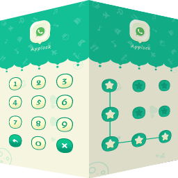 Password AppLock Green
