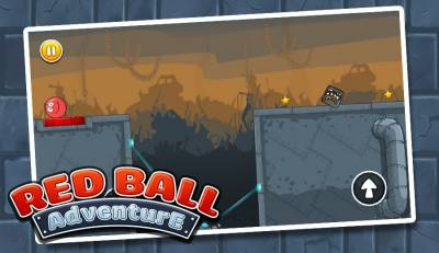 Ball Bounce and Rotate - Red Bounce Ball Adventure