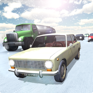 Russian Winter Traffic Racer - Russian Traffic Racer (alpha)